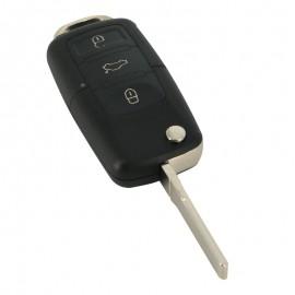 VW Carcasã cheie tip briceag 3 butoane