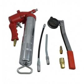 Pompa de gresat manuala pneumatica
