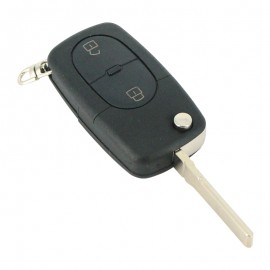 Audi - Carcasã cheie tip briceag, 2 butoane, tip mic, fãrã buton panicã, pt. baterie 1616