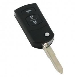Mazda - Carcasã cheie tip briceag, 3 butoane, model original