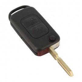Mercedes-Benz - Carcasã cheie tip briceag 2 butoane, lamã 2 piste