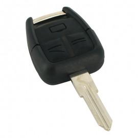 Opel - Carcasã cheie, 3 butoane, lamã pe stânga
