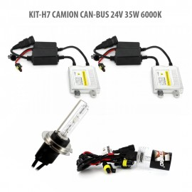 H7 CAMION CAN-BUS 24V 35W 6000K