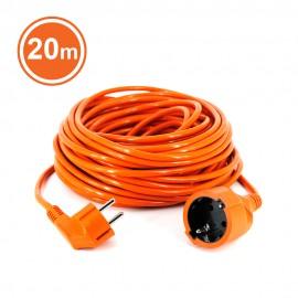 Cordon Fisa+Priza tip cu protecþie, cablu HO5VV-F 3G1, 20m, orange