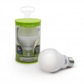Bec LED 8W, alb mediu, opal, E27