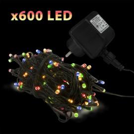 ªir lumini cu 600 LED-uri