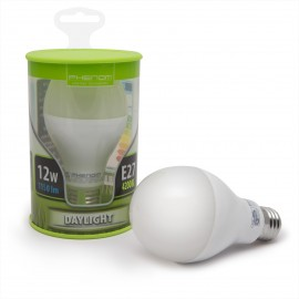 Bec LED 12W, alb mediu, opal, E27