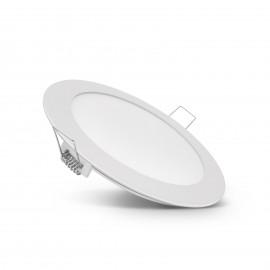 Lampã LED incastrabilã, 12 W, alb cald, model circular