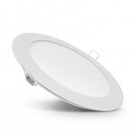 Lampã LED incastrabilã, 18 W, alb cald, model circular