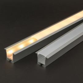 Profil aluminiu pt. benzi LED, 35x28 mm, 1m