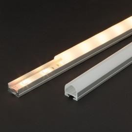 Profil aluminiu pt. benzi LED, 19x11 mm, 2m