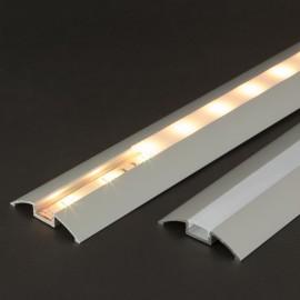 Profil aluminiu pt. benzi LED, 56x10 mm, 2m