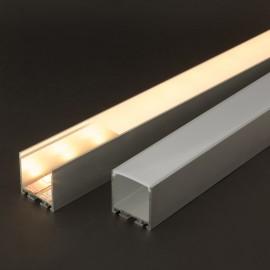 Profil aluminiu pt. benzi LED, 35x40 mm, 2m