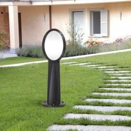 Lampã de grãdinã, model MINIGABRI REMI/1L, E27, Negru, opal