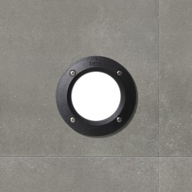 Lampã LED incastrabilã tip. panou, 3000°K, formã rotundã, model LETI 100 ROUND