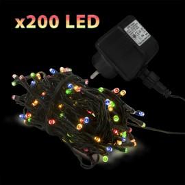 ªir luminos cu 200 LED-uri