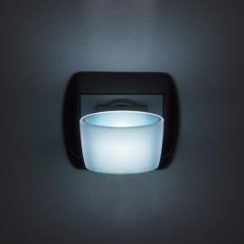 Luminã de veghe LED cu senzor tactil - albastru