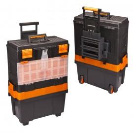 "18"" Workshop Trolley Tool Box with Wheels"