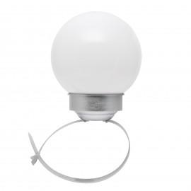 Lampã solarã cu LED - model glob pt. balustrade ºi garduri - 15cm