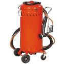 Dispozitiv de sablat exterior cu aspirator praf